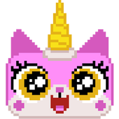 Kitty Korn in Candy Space icon