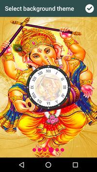 Ganesh Ji Clock Live Wallpaper screenshot 2