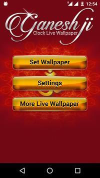Ganesh Ji Clock Live Wallpaper screenshot 4