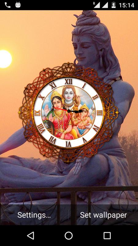 Shiv Ji Clock Live Wallpaper For Android Apk Download