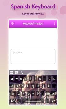 Spanish Keyboard screenshot 6