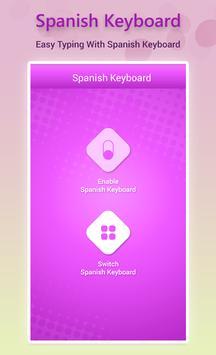 Spanish Keyboard poster