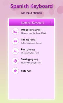 Spanish Keyboard screenshot 1