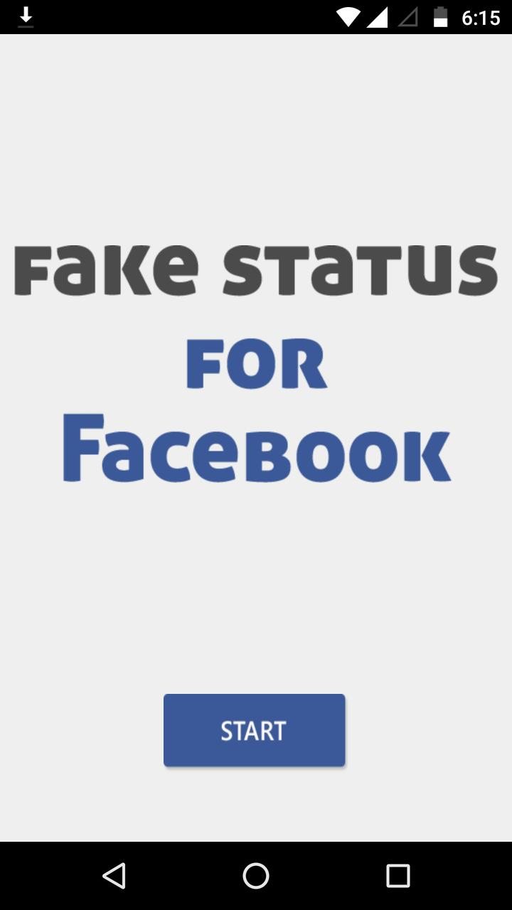 Fake Facebook Post