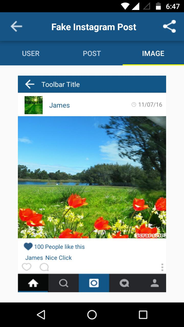 Fake Insta Post for Android - APK Download