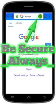 Secure Browser - Be Secure apk screenshot