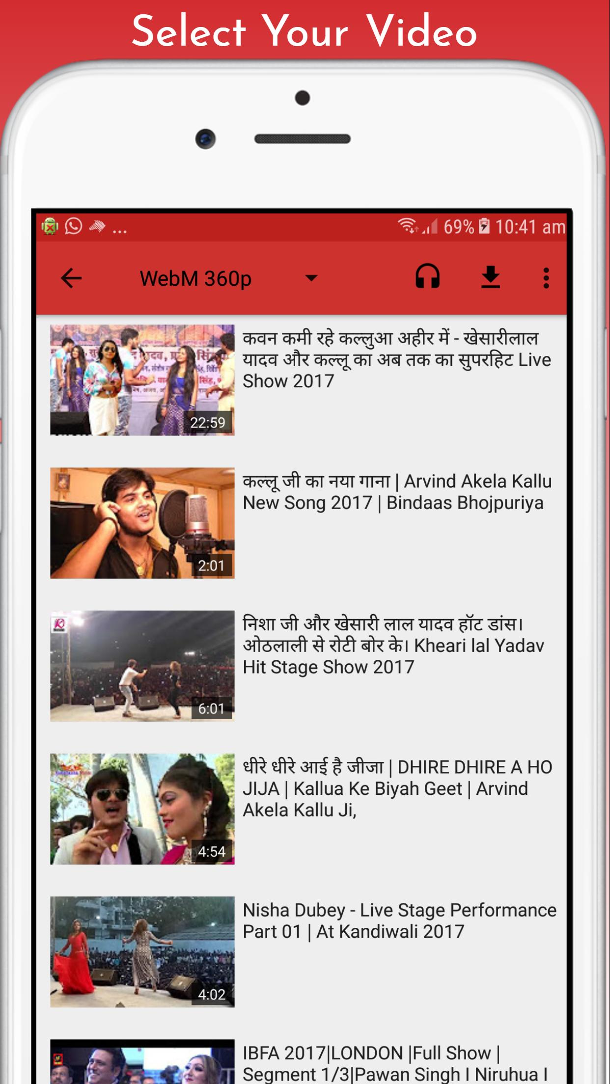 Bhojpuri Video for Android - APK Download