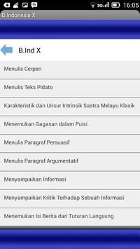 Bahasa indonesia sma apk screenshot