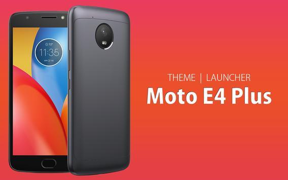 Theme for Moto E4 Plus poster