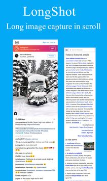 Web Scroll Capture (Long screen shoots of web) poster