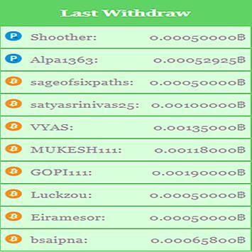 Bitcoin Maker Free 50000 Satosi screenshot 3