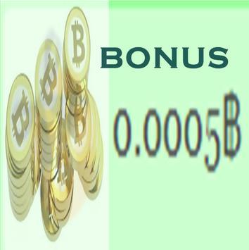 Bitcoin Maker Free 50000 Satosi poster