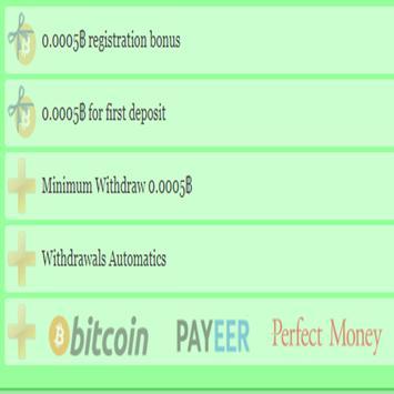 Bitcoin Maker Free 50000 Satosi screenshot 1