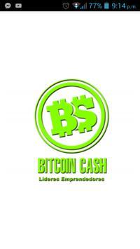 Bitcoin Cash Emprendedores poster