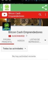 Bitcoin Cash Emprendedores apk screenshot