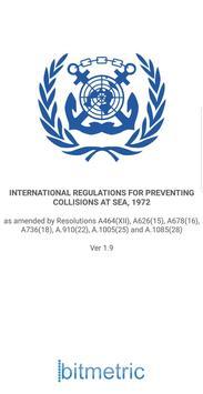 IMO Collision Regulations poster