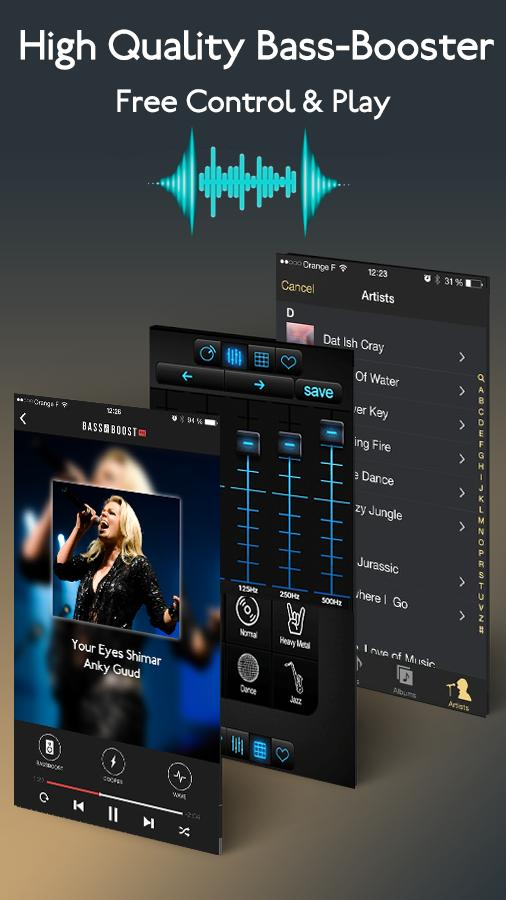 Bass Booster 2018 - Equalizer Music Player for Android - APK