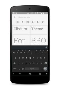Elixium UI - Layers Theme apk screenshot