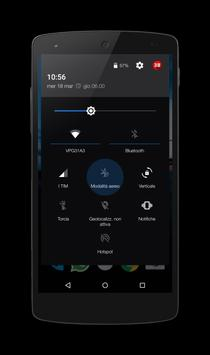 SkyBlue Night - Layers Theme apk screenshot