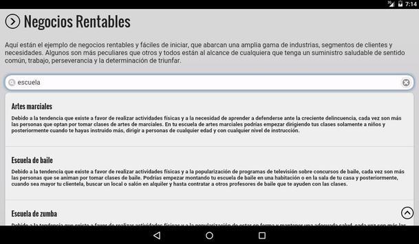 Negocios Rentables screenshot 11