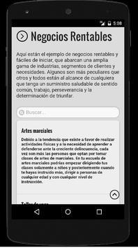 Negocios Rentables screenshot 2