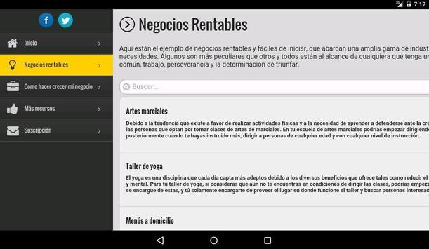 Negocios Rentables screenshot 9