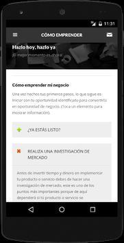 Emprendimiento screenshot 3