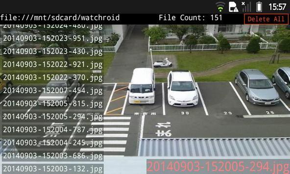 防犯・動体検知 無音カメラ 無料・無広告版 apk screenshot