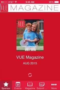 VUE poster