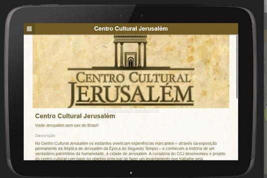 Centro Cultural Jerusalém screenshot 4