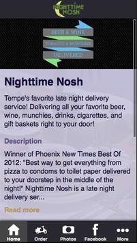 Nighttime Nosh poster