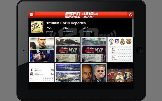 ESPN Deportes Miami 1210AM screenshot 5