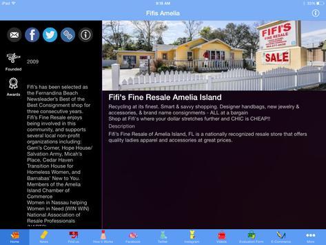 Fifi's Resale Amelia Island apk screenshot