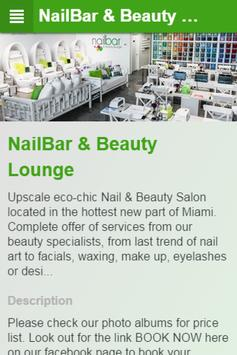 NailBar & Beauty Lounge 海报
