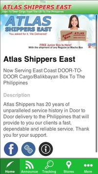 Atlas Shippers East poster
