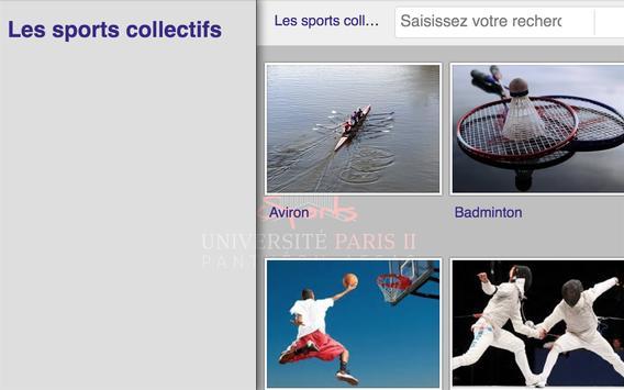 sportunivparis2 apk screenshot