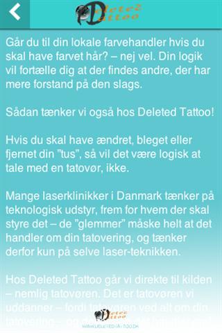 DeletedTattoo poster