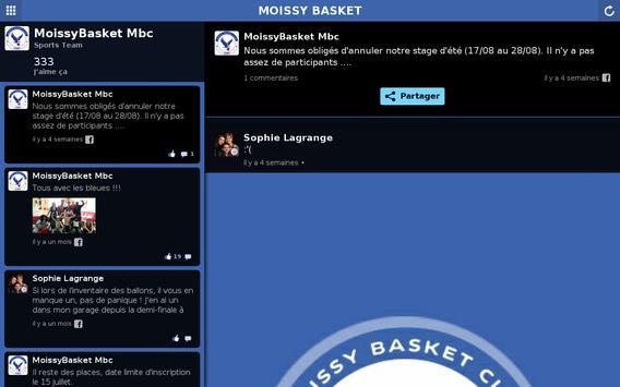 Moissy Basket Club screenshot 3