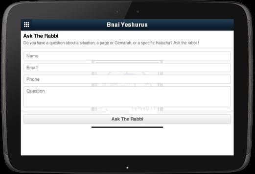 Bnai Yeshurun screenshot 2