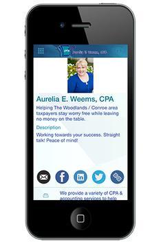 Aurelia Weems, CPA poster