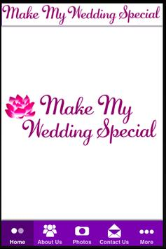 Make My Wedding Special poster