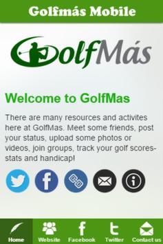 Golfmás poster