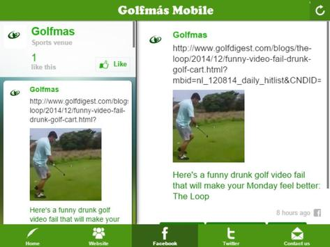 Golfmás screenshot 4