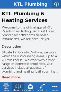 KTL Plumbing screenshot 3