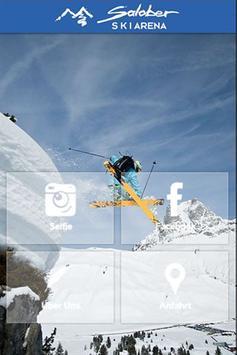 Salober Ski Arena - Selfie APP poster