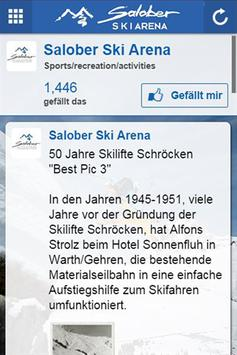 Salober Ski Arena - Selfie APP screenshot 1