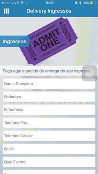 Delivery Ingressos screenshot 1