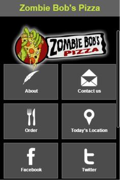 Zombie Bob's Pizza poster
