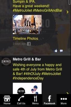 Metro Grill & Bar poster