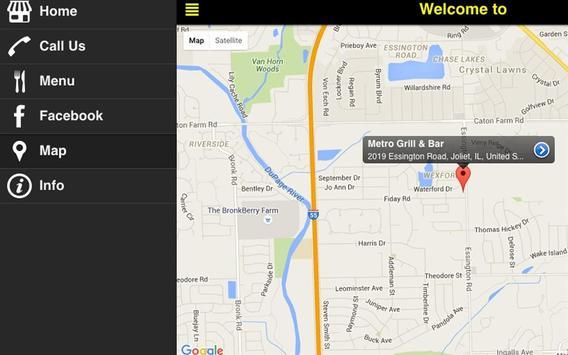 Metro Grill & Bar apk screenshot